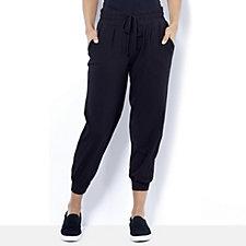 Anybody Loungewear Banded Hem Petite Cuff Joggers
