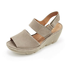 Clarks Clarene Allure Wedge Heel Slingback Sandal