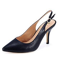 Ravel Kinney Kitten Heel Slingback Court Shoe