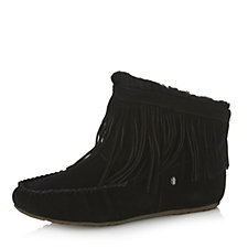Emu Nest Collection Cayote Suede Sheepskin Slipper Bootie
