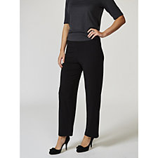 Kim & Co Brazil Knit Elastic Waistband Relaxed Trousers Regular