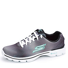 Skechers GOwalk 3 Pulse Ombre Engineered Mesh Lace Up Trainer