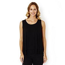 164314 - Together Double Layer Sleeveless Top