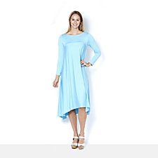 Yong Kim Long Sleeve Maxi Dress