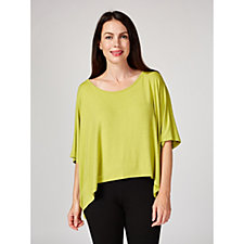 164714 - Join Clothes Dolman Sleeve Cropped Tunic Top