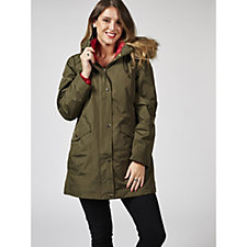 3 in 1 Jacket with Zip out Down Inner by Susan Graver