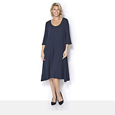 Join Clothes Rib Jersey Half Sleeve Dress