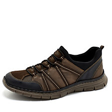Rieker Men's Trainer with Bungee Lace Front