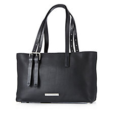 Amanda Wakeley The East West Dean Large Leather Zip Top Tote Bag