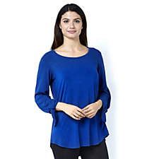 Antthony Designs 3/4 Sleeve Top w/ Hi-Lo Hem