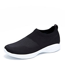 Skechers YOU Pure Mid Height Knitted Slip On Trainer