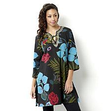 Casual & Co Bold Floral Print Kaftan