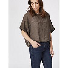 Join Clothes Linen Short Top