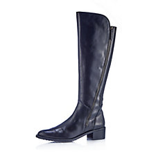 Clarks Valana Melrose Leather Knee High Boot