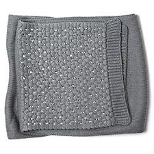 Loverocks Crystal Embellished Knitted Scarf