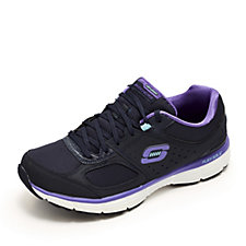 Skechers Agility Ramp Up Lace Up Trainer