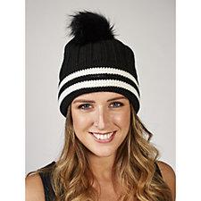 Vince Camuto Varsity Beanie Hat