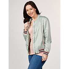 Rino & Pelle Flamingo Embroidered Bomber Jacket