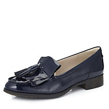 Clarks Busby Folly Leather Tassel Loafer