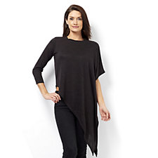 Andrew Yu Knitted Dramatic Asymmetric Top