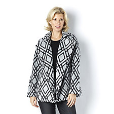 C. Wonder Diamond Print Coat