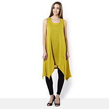 Join Clothes Soft Cotton Sleeveless Tunic Dress