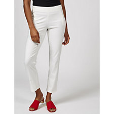 Slim Leg Ankle Trousers by Nina Leonard