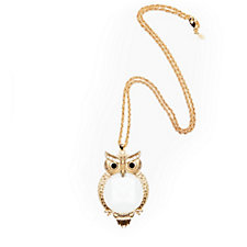 Kim & Co Owl Necklace