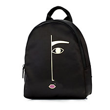 Lulu Guinness Dora Face Satin Backpack