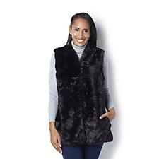 C. Wonder Faux Fur Waistcoat