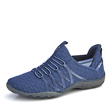 Skechers Breathe Easy Viva City Bungee Slip On Trainer with Memory Foam