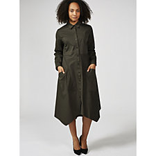 Yong Kim Longline Shirt Dress