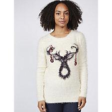 Joe Browns Fluffy Reindeer Jumper