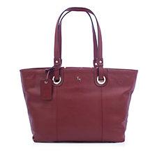 171119 - Ashwood Large Grainy Leather Shopper Bag