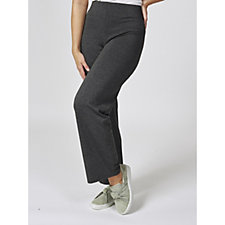 Mr Max Ultra Soft Knit Pull On Wide Leg Trousers