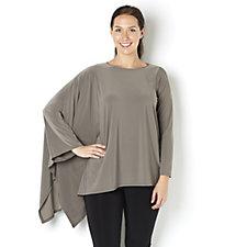 MarlaWynne Asymmetric Long Sleeve Top