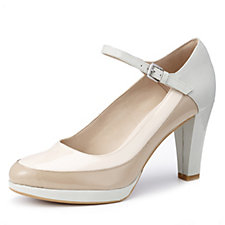 Clarks Kendra Dime Leather Mary Jane Court Shoe