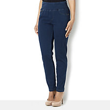 Diane Gilman Twill Knit Comfort Waist Skinny Jean