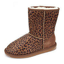 Emu Stinger Lo Animal Print Water Resistant Mid Calf Boots