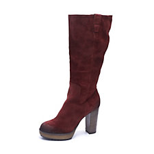 Manas Suede Knee High Boot