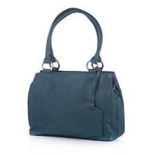 Amanda Lamb Leather Triple Pocket Grab Bag