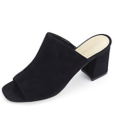 Marc Fisher Dafne Slip On Suede Heeled Shoe