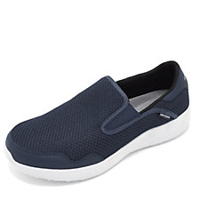 Skechers Burst Mesh Men's Slip On Shoe with Air Cooled Memory Foam