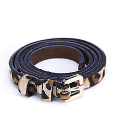 Ashwood Leather Skinny Belt