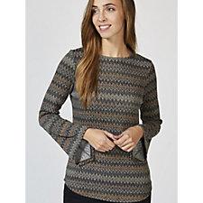 Mr Max Printed Maryanne Knit Tunic