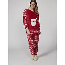 Joe Browns Festive Santa PJ Set