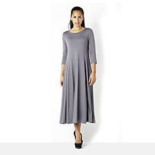 Yong Kim Modal 3/4 Sleeve Princess Seam Dress