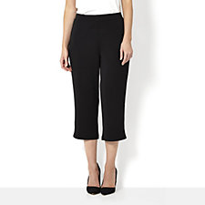 140622 - Premier Knit Pull On Capri Trouser by Susan Graver
