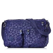 Kipling Chantra Medium Embossed Shoulder Bag with Crossbody Strap