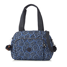 Kipling Plixi Large Double Handle Bag with Shoulder Strap